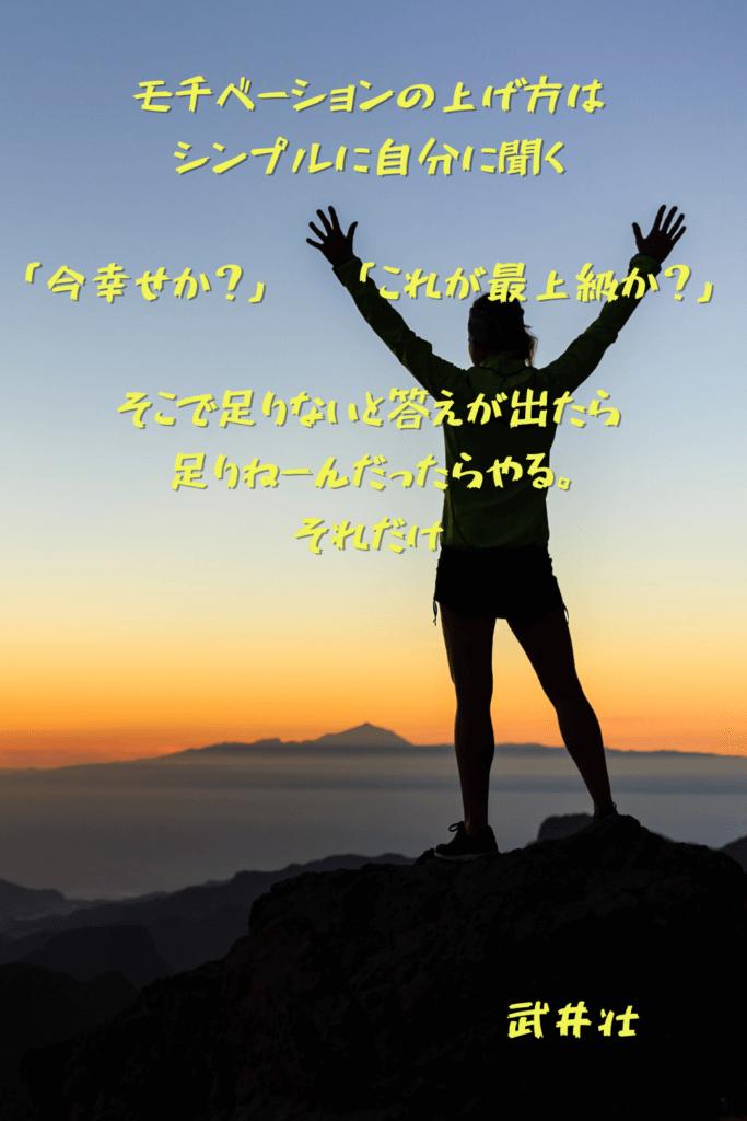 武井壮の名言5